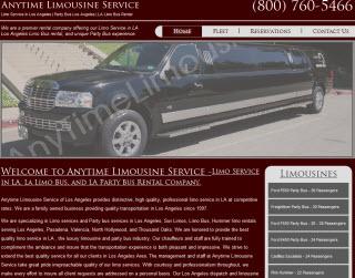 limo service in LA